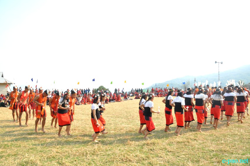 Teinem Luira Phanit at Teinem Village, Ukhrul District, Manipur  ::  10th March 2018