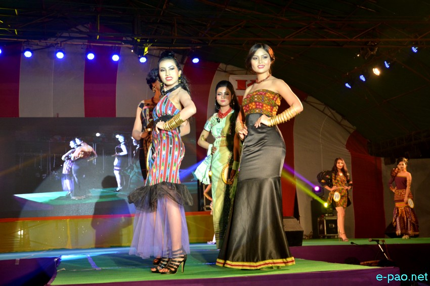 Miss Kut at 'Kut 2017' at 1st Manipur Rifles Ground, Imphal  :: 01 November 2017
