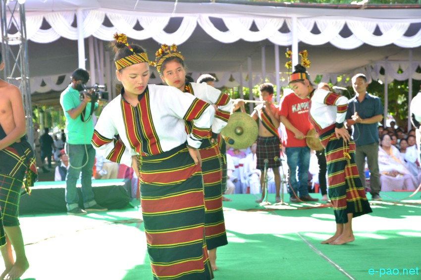 Cultural Programme :  Mera Houchongba , re-affirming close bond between hill and valley people at Kangla :: 05 Oct 2017