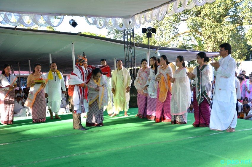 Pot Lannaba :  Mera Houchongba , re-affirming close bond between hill and valley people at Kangla :: 05 Oct 2017