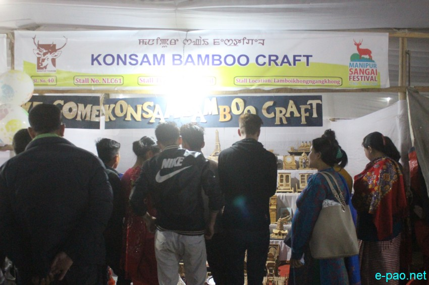 Day 10 :  Stalls at Lamboi Khongnangkhong, Imphal as part of Sangai Festival :: 30th November 2018