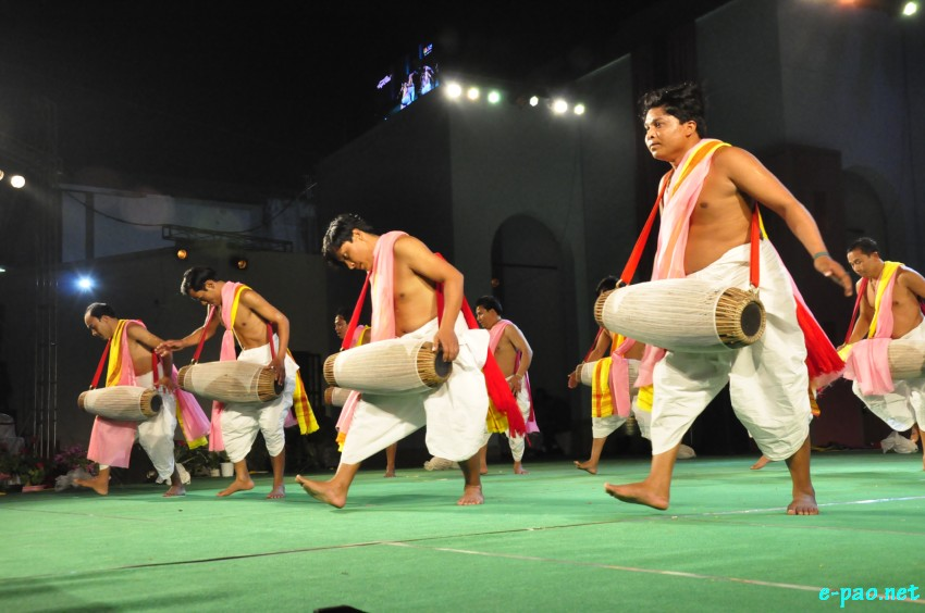 Day 3 : Pung Chollom : Taal of Nata Sankirtana at  Manipur Sangai Festival at Khuman Lampak, Imphal :: November 23 2018