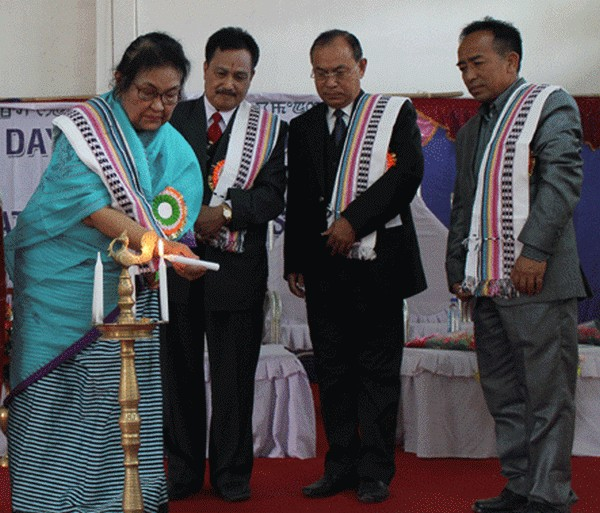 Inauguration of two-day International Women's Day observation organised by Manipur State Commission for women on March 8 2013