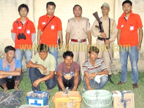 Poachers nabbed, animals rescued