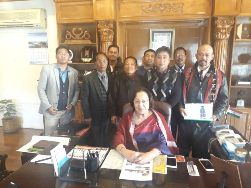 Good will mission apprises Manipur Guv' to end UNC's issues