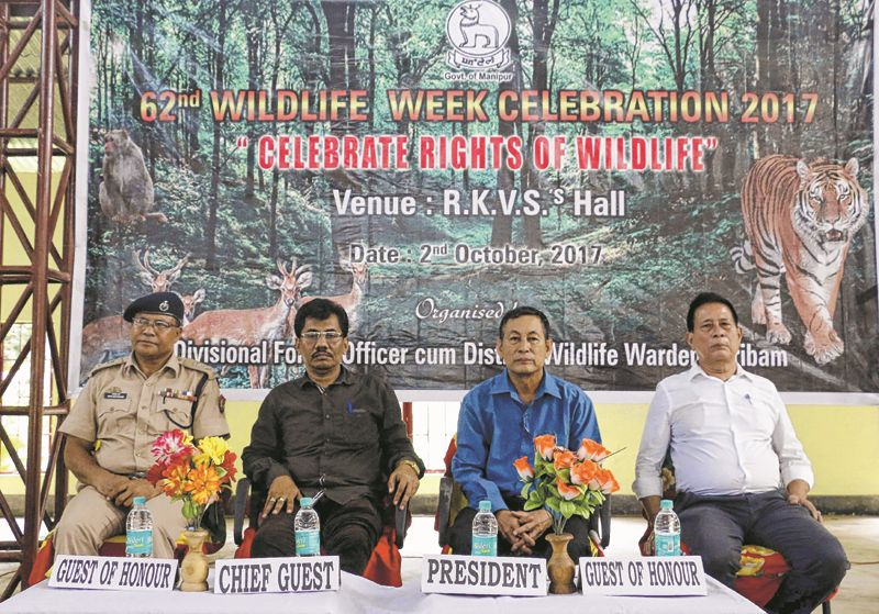 62nd Wild life week celebrated in Jiribam, Ukhrul