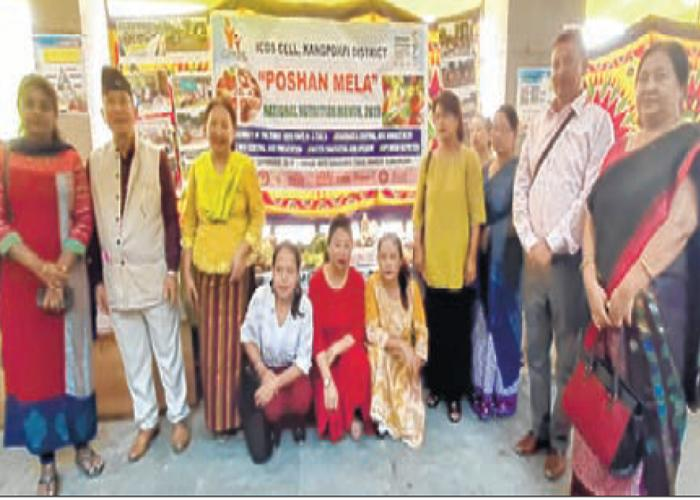 'Tribal Food Mela' under Rashtriya Poshan Maah held at Kpi DHQs