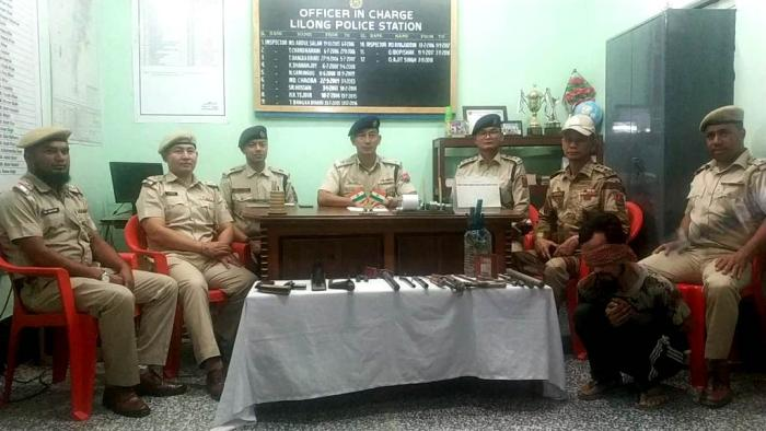 After drugs, now Thoubal Police haul up arms smugglers chain