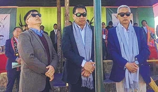 Minister, MP, MLA reach out to border villages of Ukhrul