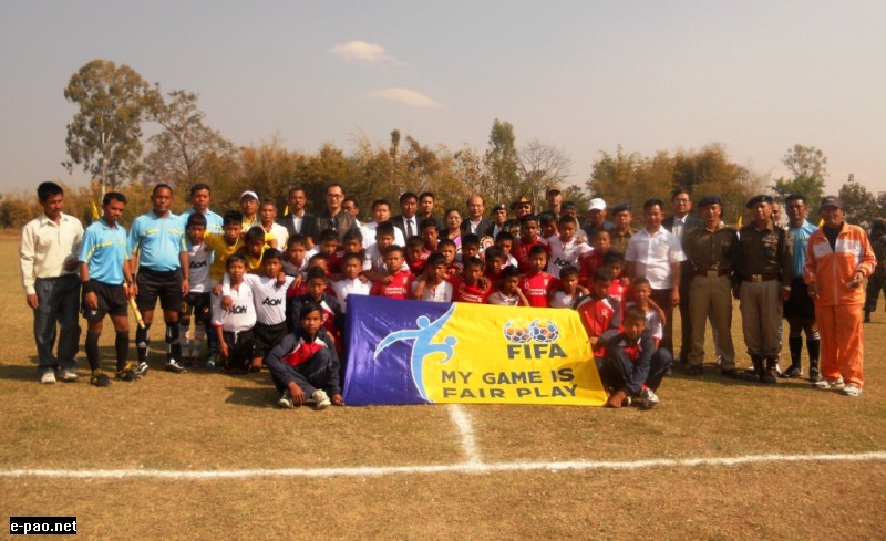 U�13 / U-16 Football Tournament concludes at TBSFA, Tabungkhok
