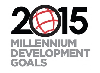 Millennium Develoment Goals MDG logo