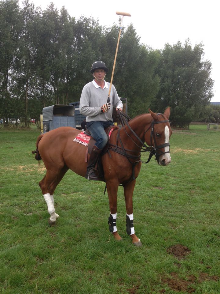 Dave Allen - Part of England team for 9th Manipur Polo International 2015
