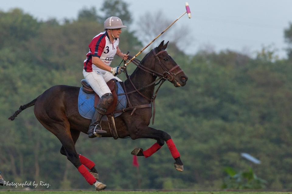 Michael Howe - Part of England team for 9th Manipur Polo International 2015