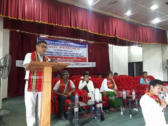 Observation of International Day of Indigenous People at Tripura on  9 August 2017