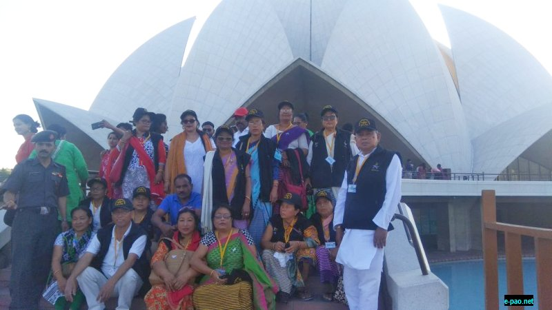 Manipur Women Religious Tour reaches New Delhi