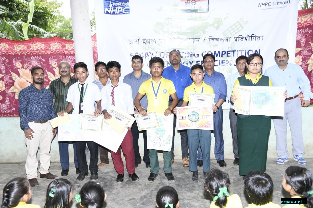 Drawing Competition on Energy Efficiency at Khordak, Bishnupur