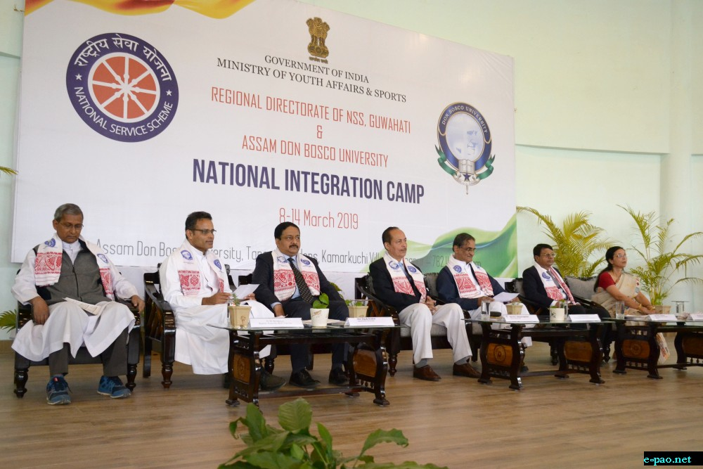 Inauguration of NSS National Integration Camp at ADBU